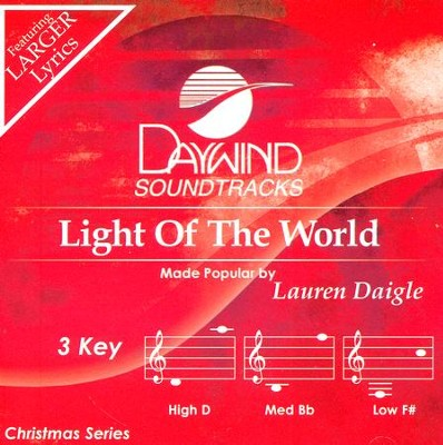 Light of the World, Acc CD   -     By: Lauren Daigle