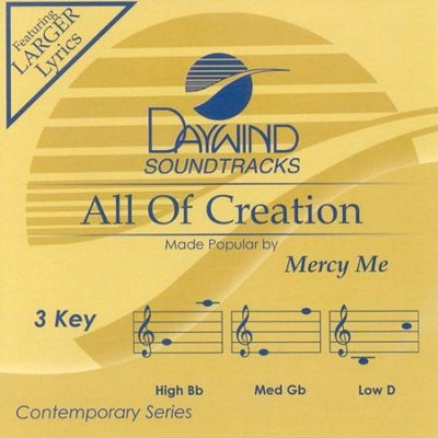 All Of Creation, Accompaniment CD   -     By: MercyMe