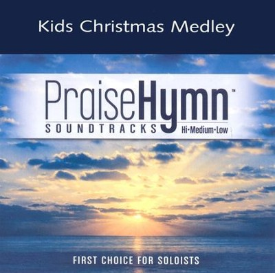 Kids Christmas Medley, Accompaniment CD   -