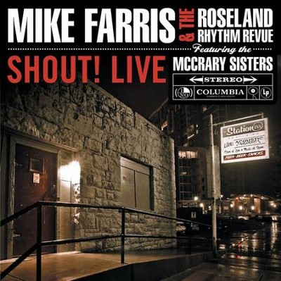 Shout! Live CD   -     By: Mike Farris