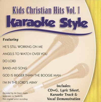 Kids Christian Hits, Volume 1, Karaoke Style, Compact Disc [CD]   -