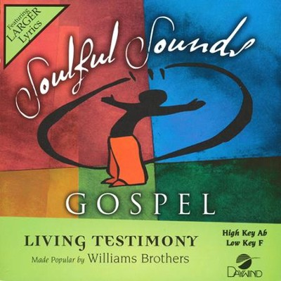 Living Testimony Acc, CD  -     By: The William Brothers