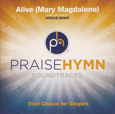 Alive (Mary Magdalene), Acc CD   -     By: Natalie Grant