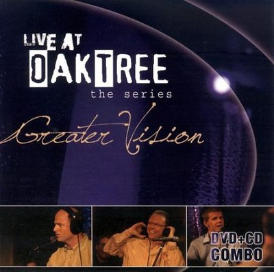 Greater Vision: Live at Oak Tree--CD and DVD   -     By: Greater Vision