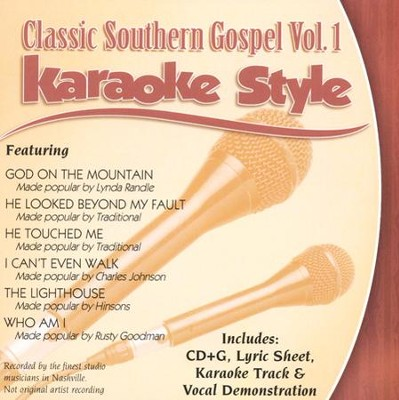 Classic Southern Gospel, Volume 1, Karaoke Style CD   -     By: Various Artists
