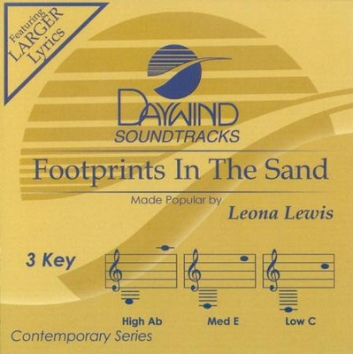 Footprints in the Sand, Acc CD   -     By: Leona Lewis
