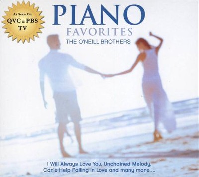 Piano Favorites   -     By: The O'Neill Brothers