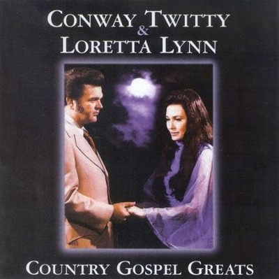 Country Gospel Greats CD     -     By: Conway Twitty, Loretta Lynn