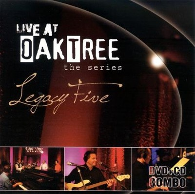 Legacy Five: Live at Oak Tree DVD+CD   -     By: Legacy Five
