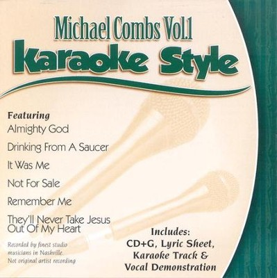 Michael Combs, Volume 1, Karaoke Style CD   -