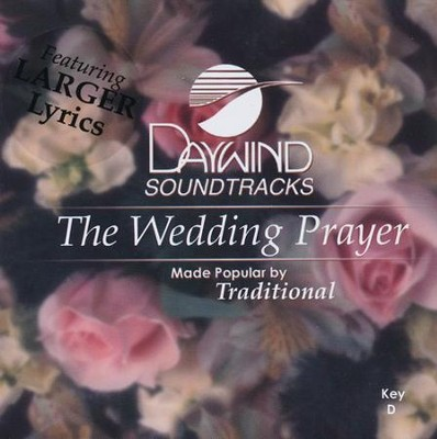 Wedding Prayer, Acc CD   -