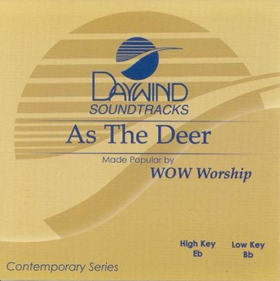 As the Deer, Acc CD   -     By: WOW Worship