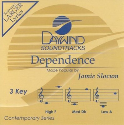 Dependence, Accompaniment CD  -     By: Jamie Slocum