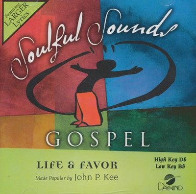 Life and Favor Acc, CD  -     By: John P. Kee