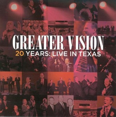 20 Years: Live in Texas--CD  -     By: Greater Vision