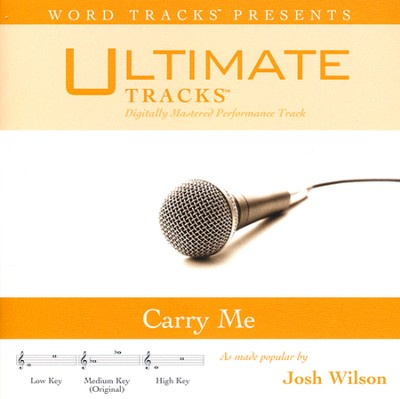 Carry Me (Medium Key Performance Track with Background Vocals)  [Music Download] -