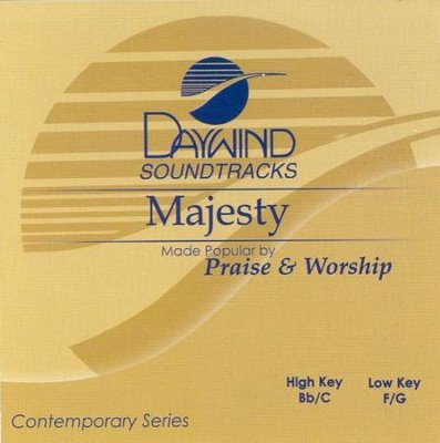 Majesty, Accompaniment CD   -     By: Praise & Worship