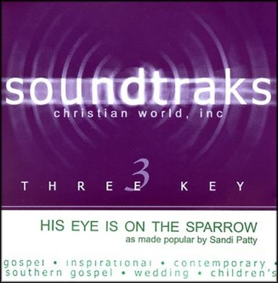 His Eye Is On The Sparrow, Acc CD   -     By: Sandi Patty
