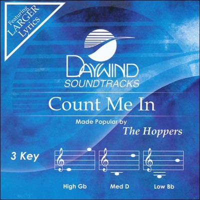 Count Me In Acc, CD  -     By: The Hoppers