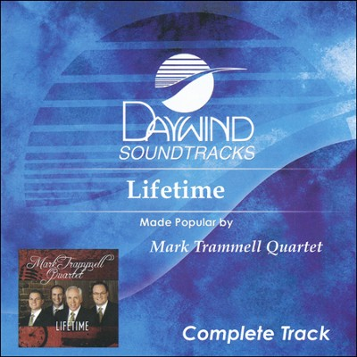 Lifetime (Complete Track) Acc, CD  -     By: Mark Trammell Quartet