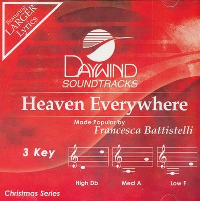 Heaven Everywhere, Acc CD   -     By: Francesca Battistelli