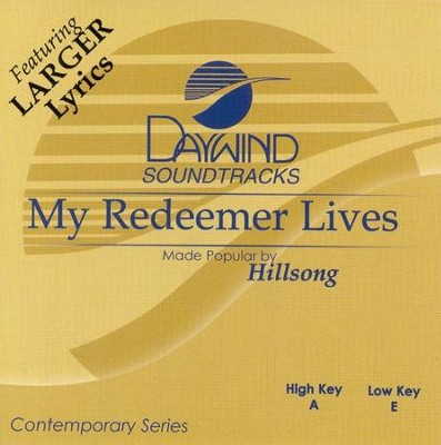 My Redeemer Lives, Acc CD   -     By: Hillsong