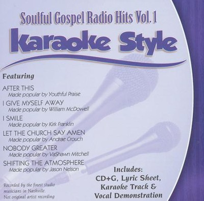 Soulful Gospel Radio Hits Volume 1, Karaoke Style CD   -     By: Various Artists
