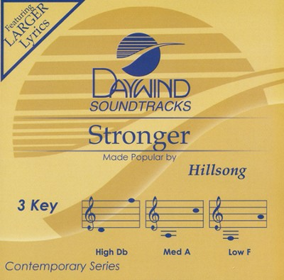 Stronger, Acc CD   -     By: Hillsong