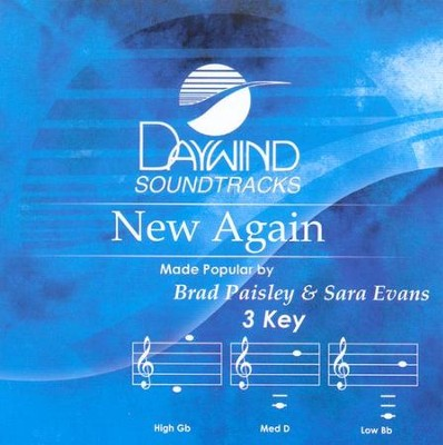 New Again, Acc CD   -     By: Brad Paisley, Sara Evans