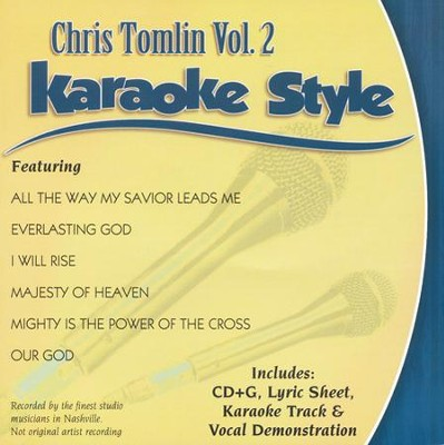 Chris Tomlin Vol.2 Karaoke CD    -