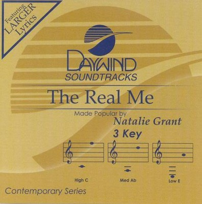 The Real Me, Accompaniment CD   -     By: Natalie Grant