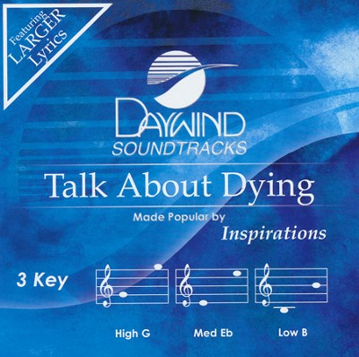 Talk About Dying Acc, CD  -     By: The Inspirations