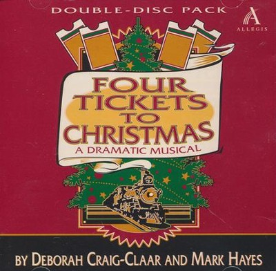 Four Tickets To Christmas, Double Stereo CD  -     By: Deborah Craig-Claar, Mark Hayes
