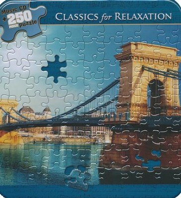 Classics for Relaxation (Puzzle Tin with CD)   -     By: Various Artists