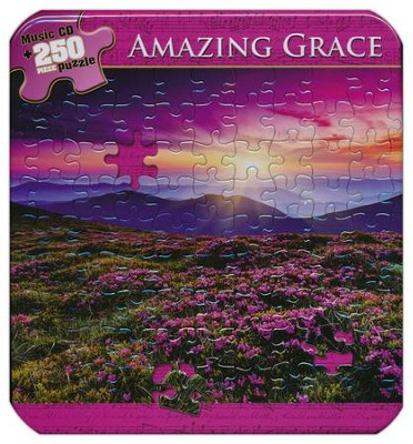Amazing Grace (Puzzle Tin with CD)   -