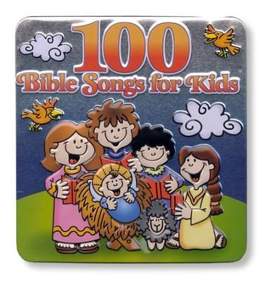 100 Bible Songs for Kids, 3 CD Set   -