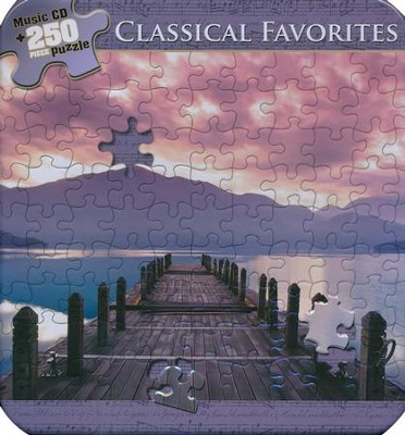 Classical Favorites (Puzzle Tin with CD)   -     By: Various Artists