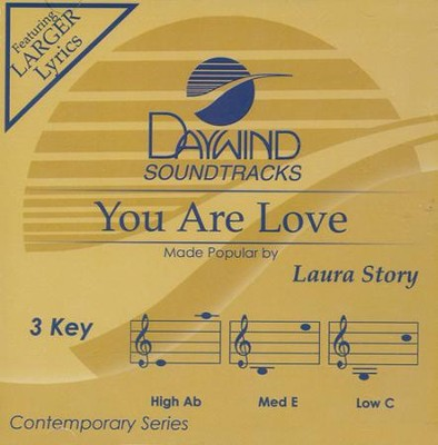 You Are Love Acc, CD  -     By: Laura Story