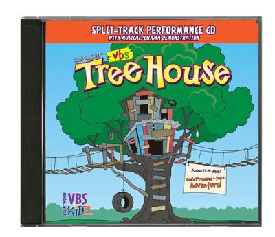 TreeHouse VBS Split-Track Performace CD   -