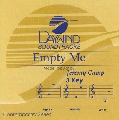 Empty Me, Accompaniment CD   -     By: Jeremy Camp