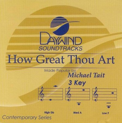 How Great Thou Art, Accompaniment CD   -     By: Michael Tait