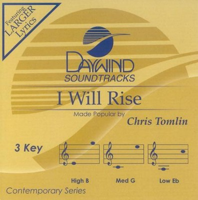 I Will Rise, Acc CD   -     By: Chris Tomlin