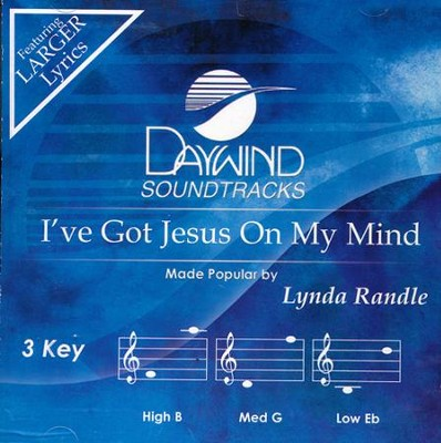 I've Got Jesus On My Mind Acc, CD  -     By: Lynda Randle