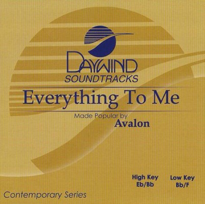 Everything to Me, Acc CD   -     By: Avalon