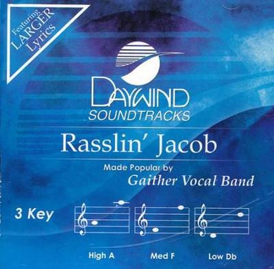 Rasslin' Jacob Acc, CD  -     By: Gaither Vocal Band