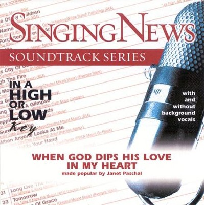 When God Dips His Love In My Heart, Accompaniment CD   -     By: Janet Paschal