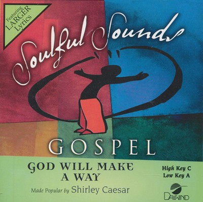 God Will Make A Way Acc, CD  -     By: Shirley Caesar