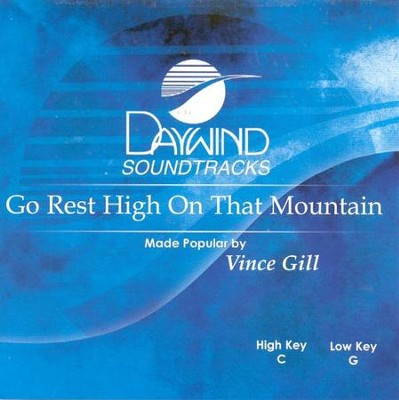 Go Rest High On That Mountain, Acc CD   -     By: Vince Gill