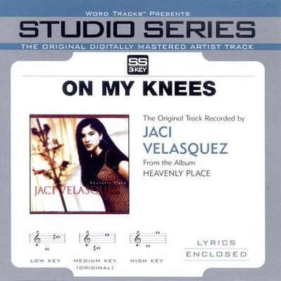 On My Knees, Accompaniment CD   -     By: Jaci Velasquez