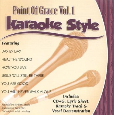 Point of Grace, Volume 1, Karaoke Style CD   -
